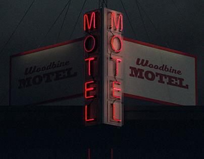 "Personal Work : ""Woodbine Motel"""