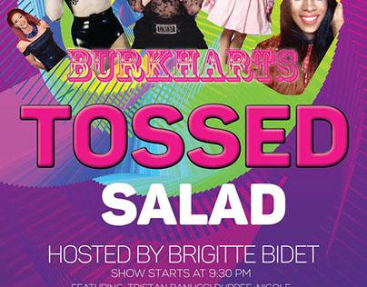 Tossed Salad Show Promo Flyer