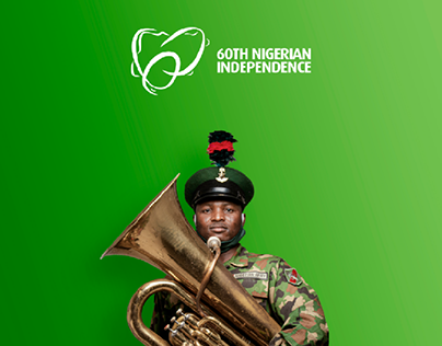 Nigeria's 60th Independence Logo Re-design
