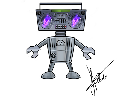 """Character for DJ """"DGTIZE"""""""