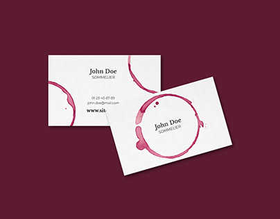 Business Card Sommelier
