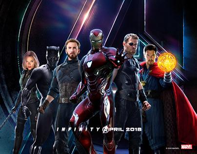 [漫威十年] / Out of Space Traveler with Avengers