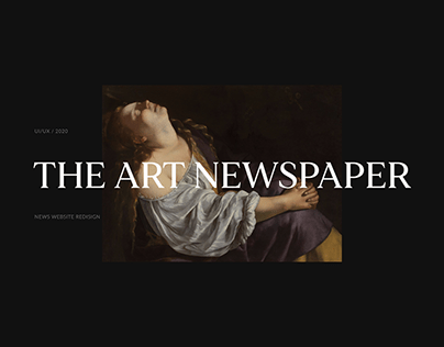 The Art Newspaper / News Website