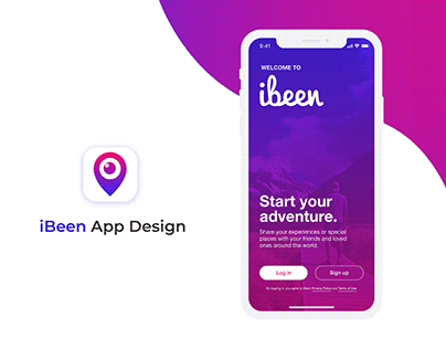 iBeen App Design