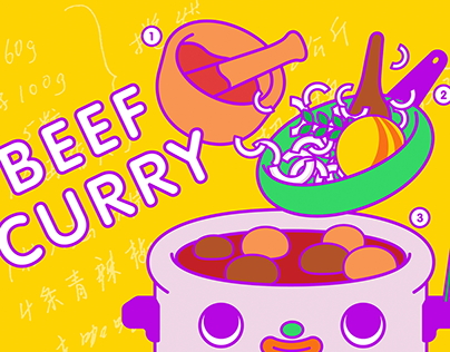 Beef Curry Recipe for TDAC