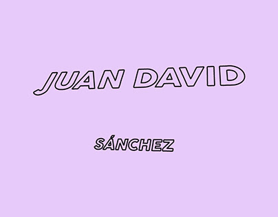 Marca Juan David Sánchez - Personal Branding