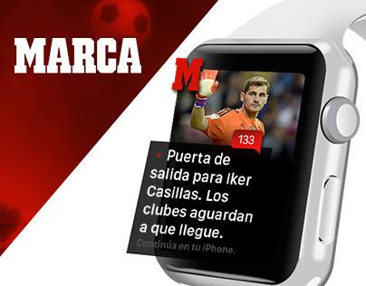 Apple watch UI  |  Marca #apple #watch #design  #marca