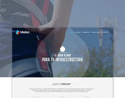 Veolus / Web Design