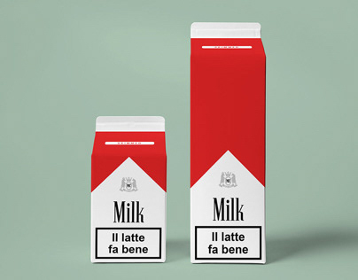 Milk care - Art project - Restyling