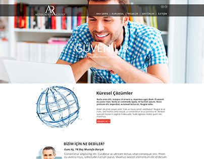Alpha Roger Beta Web Site