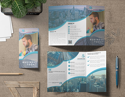 Corporate Trifold BrochureDesign
