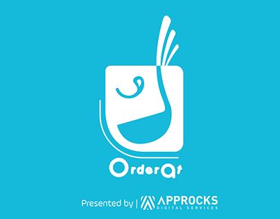 Orderat Logo Project