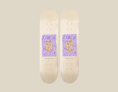 Vanessa Cléroux's Pic Bois skateboard signature