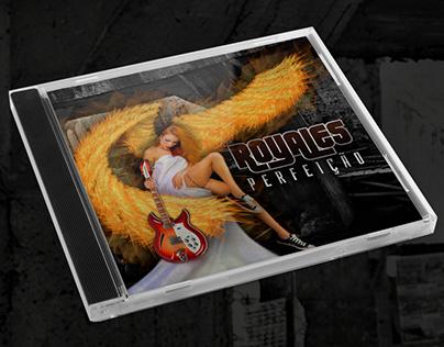 """Capa CD """"Perfeição"""" - Banda Royales"""