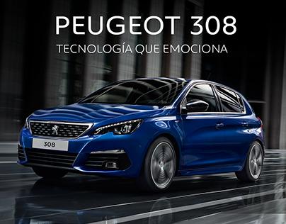 Peugeot 308 - Tecnología que emociona