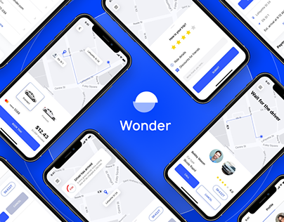 Wonder Taxi App | UI/UX