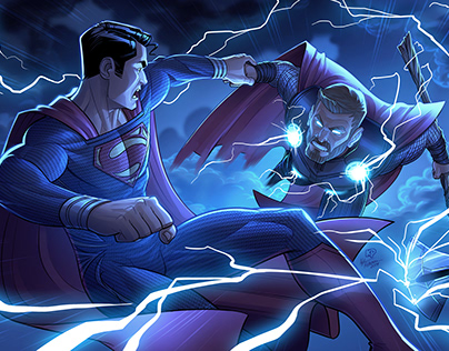 Superman Vs. Thor: Marvel / DC Crossover