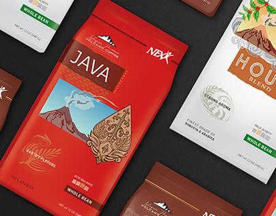 Packaging Design - Nexx Volcano Coffee