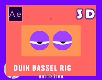 Character rig with duik bassel