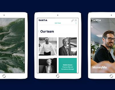 Dantia Website