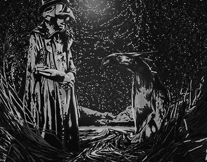 Plague Doctor illustration ( free download )