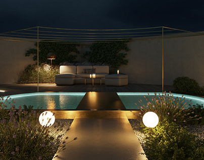 Landscape project P3 lighting