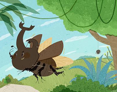 森林小霸王 Beetle