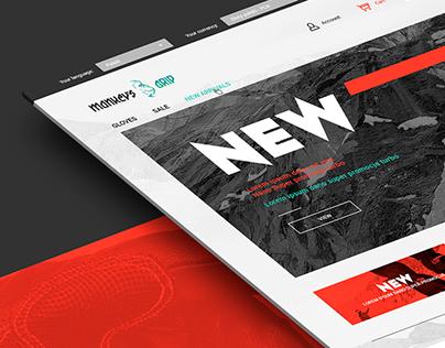 Monkeys Grip branding & website