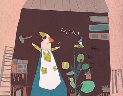 pinocchio and papa