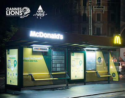 McDonald's - The McDelivery Shelter