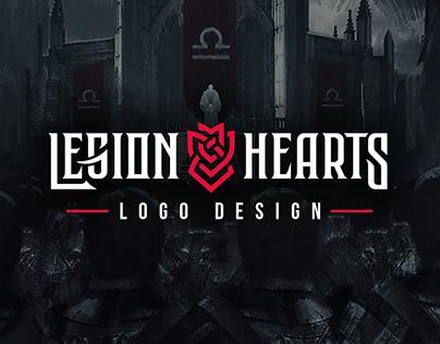 Legion Hearts logo design