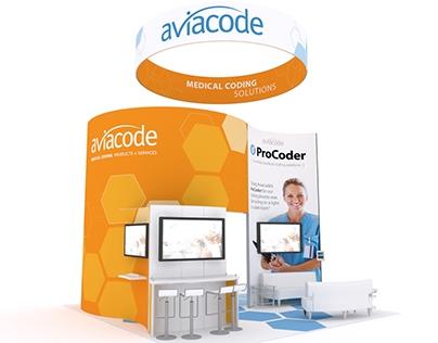 Aviacode – Trade Show Booth