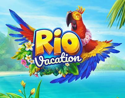 Toys 2D Animation. Rio Vacation