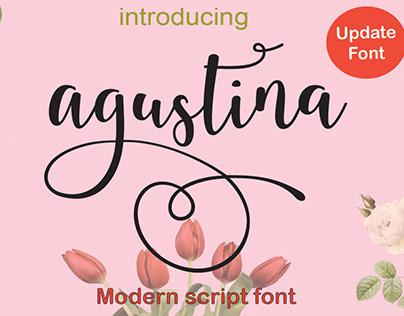 Agustina Script