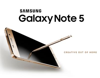 CREATIVE OOH Samsung Galaxy Note 5