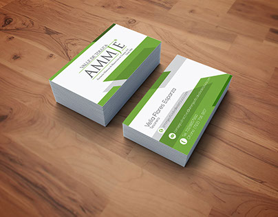 AMMJE bussiness card