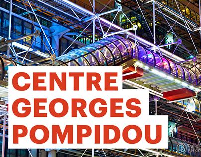 Centre Pompidou Museum Booklet