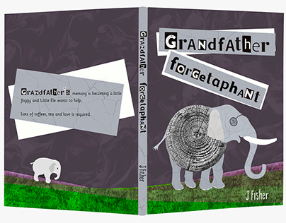 Grandfather Forgetaphant Children's Picture Book