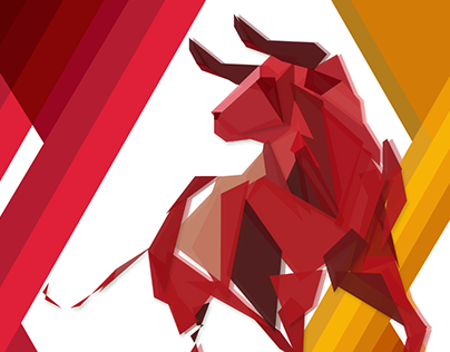 Toro en vector