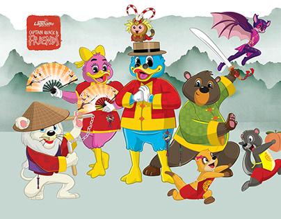 Captain Quack & Friends
