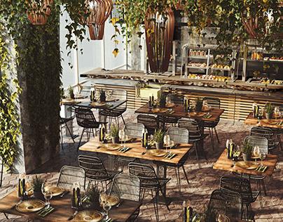 Visualization of Restaurant 001