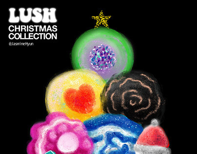 HAPPY CHRISTMAS WITH LUSH