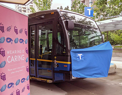 Wearing Is Caring Campaign, TransLink