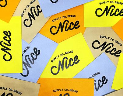 Nice Supply Co. – Brand Identity