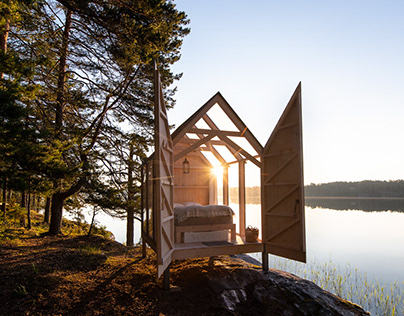 72 Hour Cabin in Sweden...