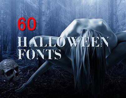 60+ Spooky Halloween Fonts