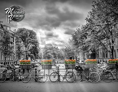 Black&White + Colorkey Cityscapes