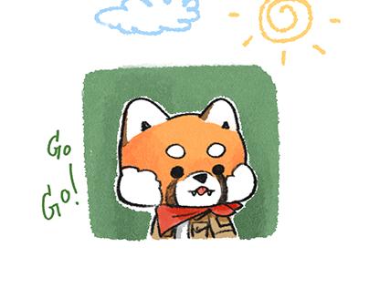Red panda: Boy Scout by HoneyBbearr