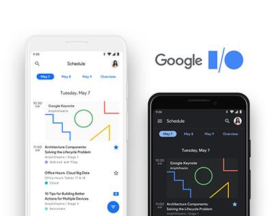 Google I/O '19 Mobile App
