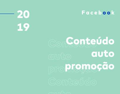 Conteúdo Auto-promoção 2019 | Facebook Pegada Criativa